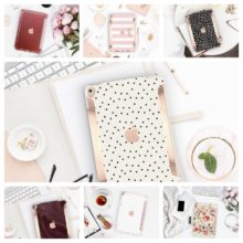 Designer elegant high-street iPad cases by Clique Boutique