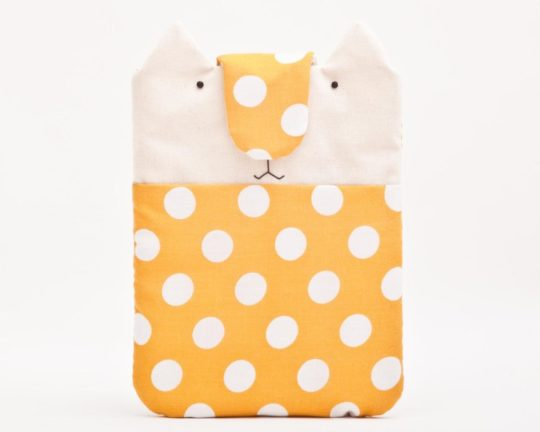 Handmade cute polka dot iPad mini 5 sleeve