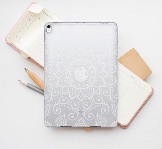 Mandala clear transparent iPad mini 5 case