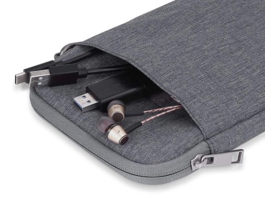 MoKo Kindle sleeve offers large external pocket