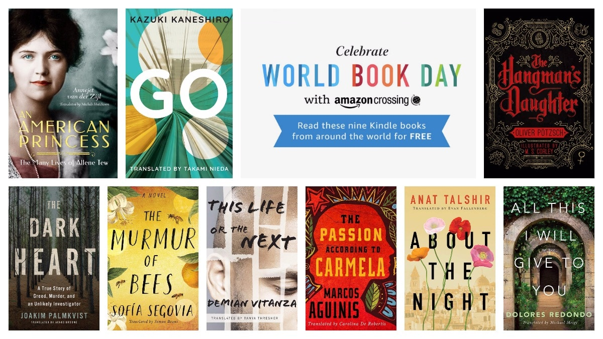 3380bb00b Celebrate World Book Day 2019 with these free Kindle books in translation!