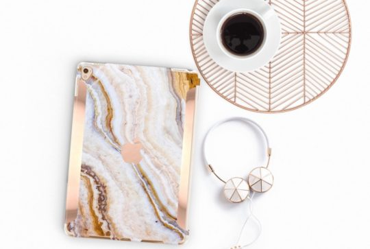 Pina Onyx Marble iPad Case from Clique Boutique