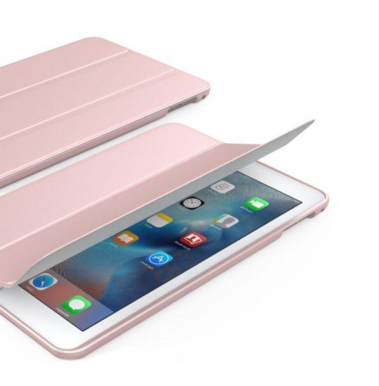 Protective smart shell iPad mini 4 stand case