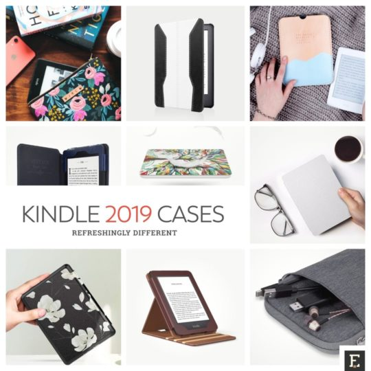 The best and most creative Amazon Kindle 2019 (10-th generation) cases from around the web