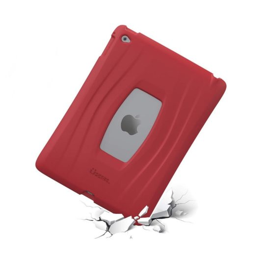 Rugged silicone iPad mini 5 case with reinforced corner protection