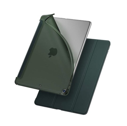 Soft rubberized iPad mini 5 smart cover alternative