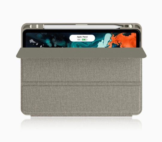 Soke iPad Pro 11 smart case with clever Apple Pencil charging holder