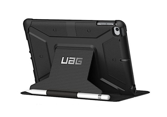 UAG heavy-duty iPad mini 5 case with Apple Pencil holder
