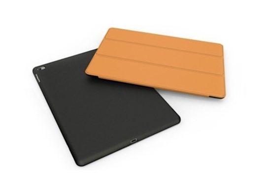 Unique dual-color smart case for iPad mini