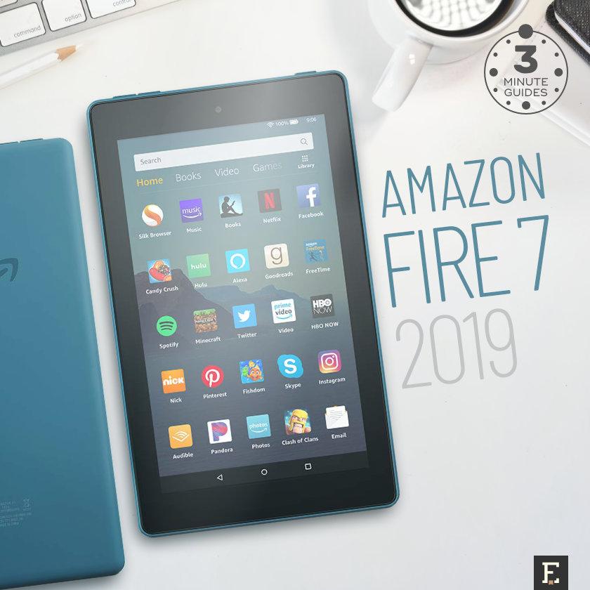 Amazon Fire 7 2019 - quick guide