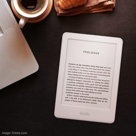 Amazon Kindle with Audible player