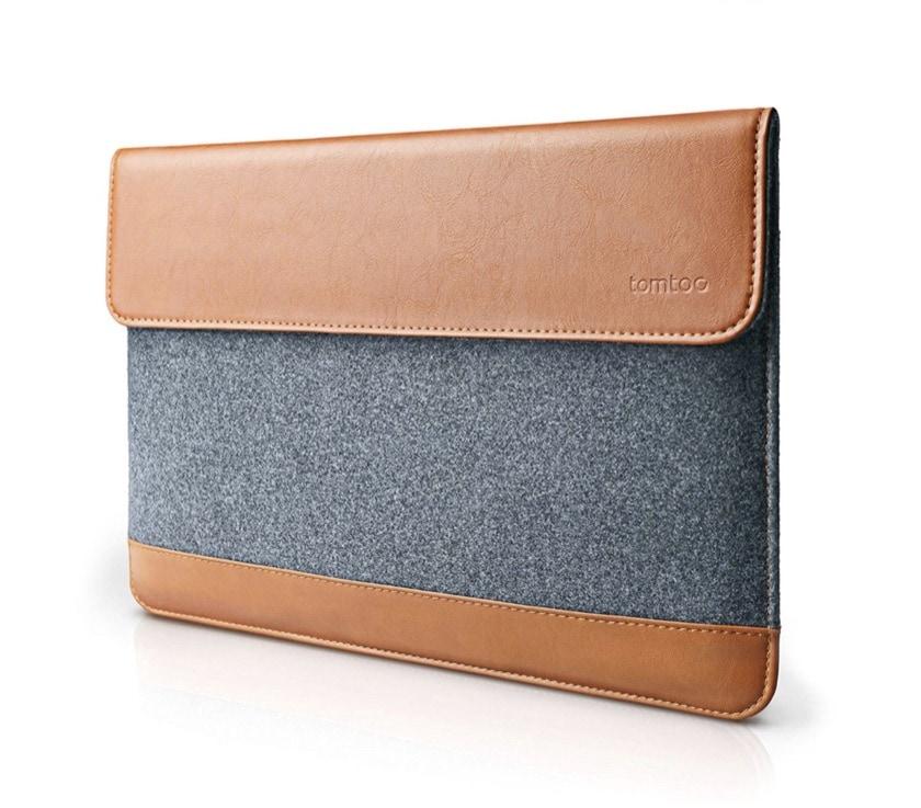 Apple iPad Pro 11 premium leather sleeve from Tomtoc