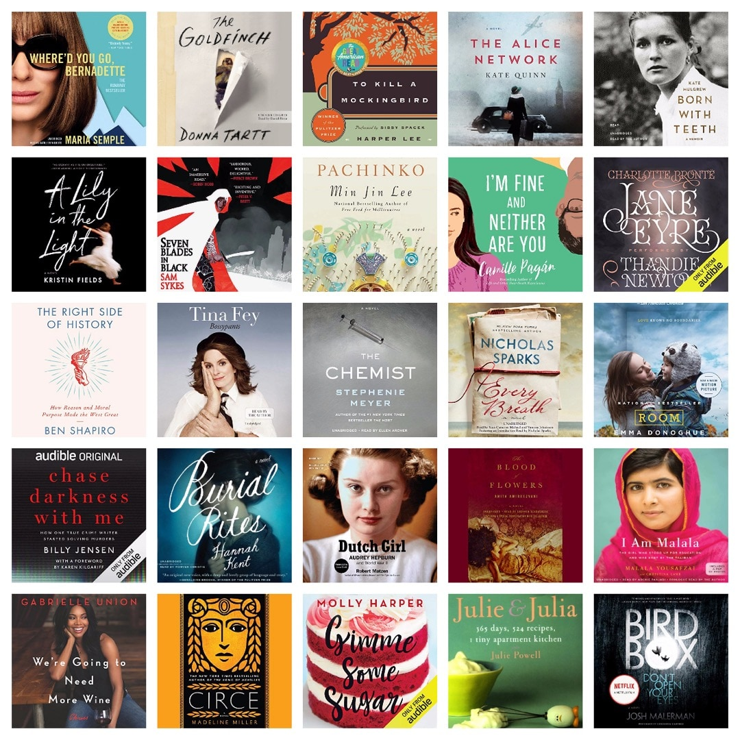 Audible sitewide sale for subscribers May 2019 - save up to 70% on all titles from a catalog