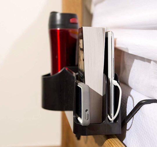 Bedside charging organizer