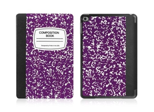 Best iPad case brands on Amazon - Fintie offers composition book designs