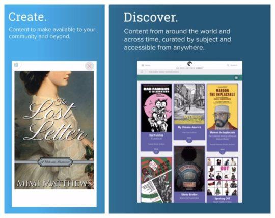 BiblioBoard app for iOS