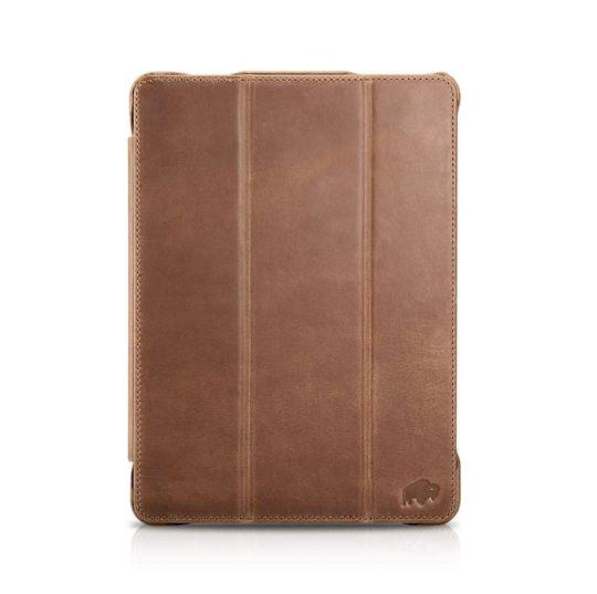 Burkley genuine leather iPad Pro stand case