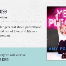 Celebrity books to inspire you: Amy Poehler - Yes Please