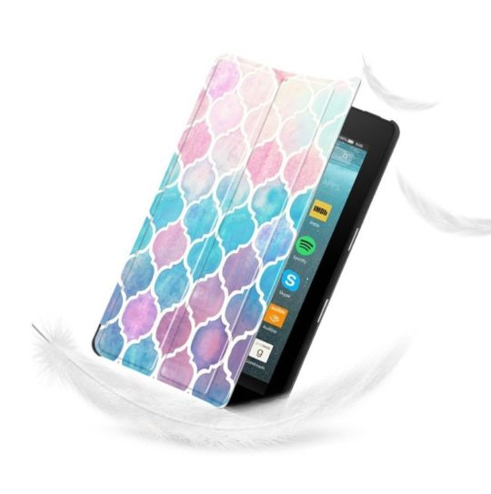 Fintie smart shell Amazon Fire 7 2019 case cover