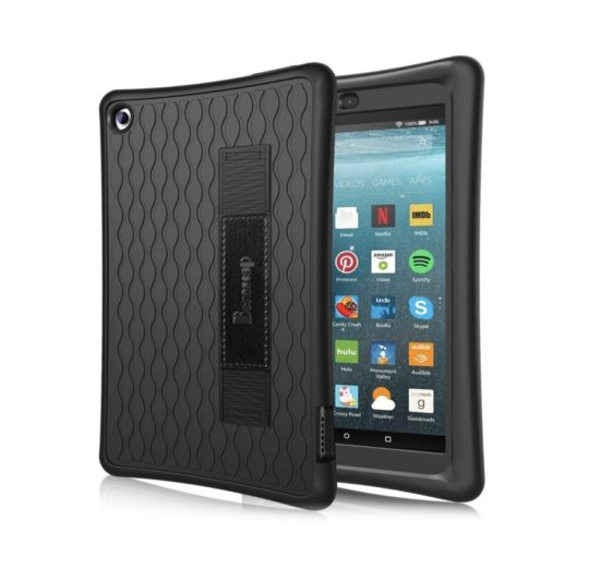 Heavy-duty Amazon Fire 7 silicone case for 2019 model