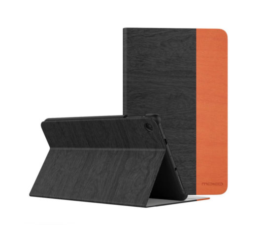MoKo dual-color textured Fire 7 2019 case