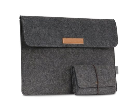 MoKo offers one of the most affordable iPad Pro felt sleeves on Amazon