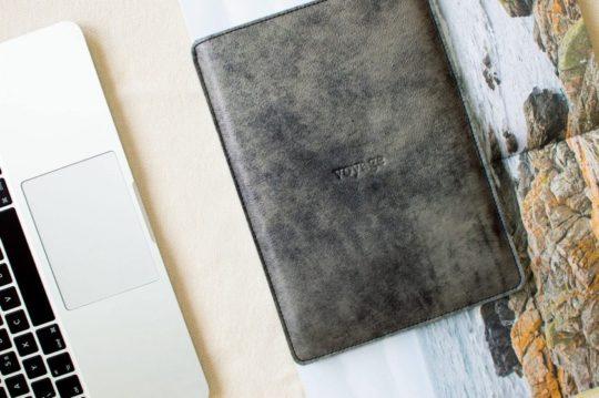 Most original iPad Pro leather and felt sleeve