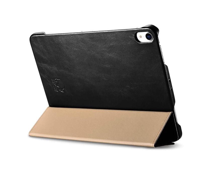 Premium Apple iPad Pro leather case with waterproof interior