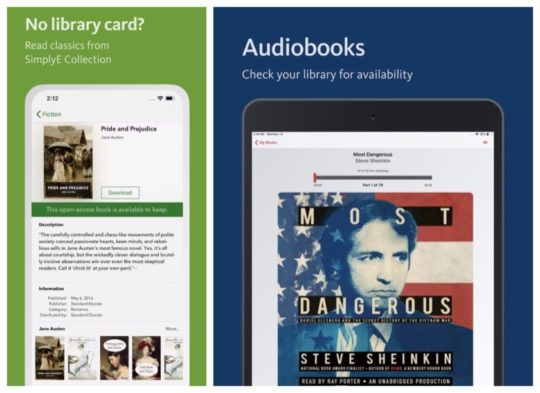 SimplyE iPad and iPhone app offers ebooks and audiobooks from multiple digital platforms