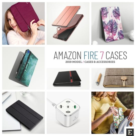 The best Amazon Fire 7-inch 2019 case covers and accessories
