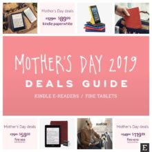 A quick guide to the best Kindle and Fire deals for Mother's Day 2019