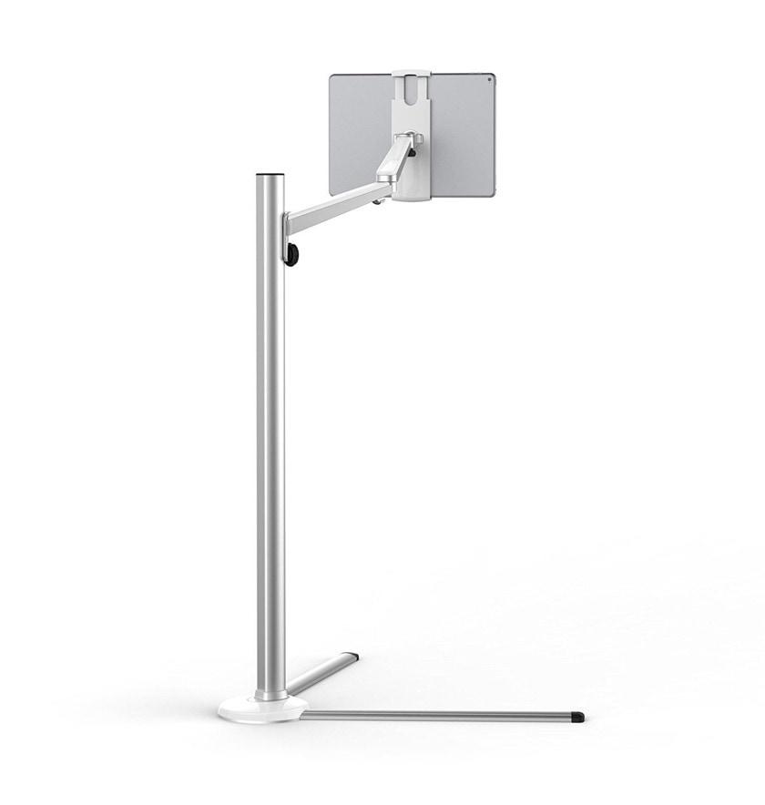 Adjustable iPad floor stand