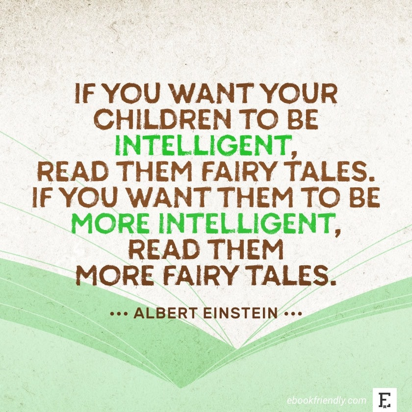 Albert Einstein - best quotes on the importance of books