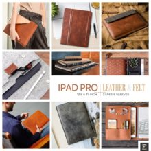 20 best iPad Pro sleeves and cases hand-crafted from leather and felt