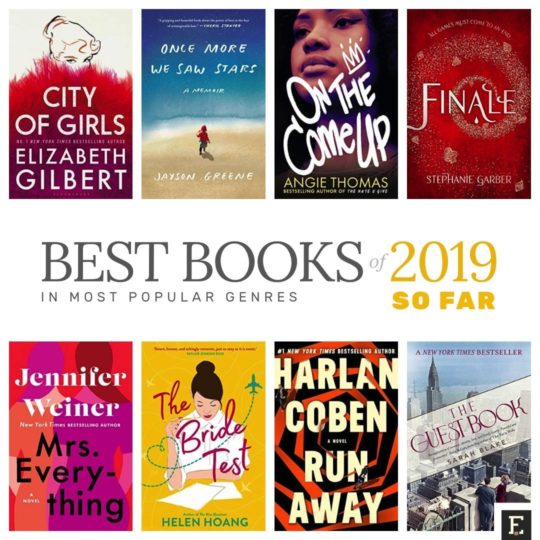 Best books of the year 2019 so far by genre