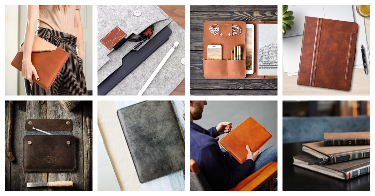 052fcf2254c7 20 best iPad Pro sleeves and cases hand-crafted from leather and felt