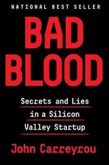 Best nonfiction books of 2019 for Amazon Kindle - Bad Blood by John Carreyrou