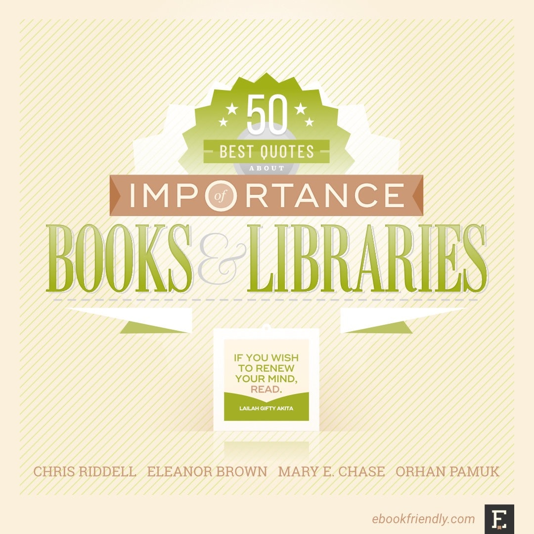 Best quotes about the importance of books and libraries