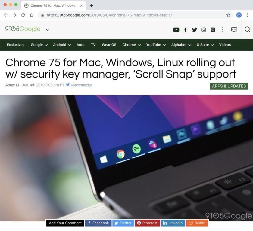 How to enable Reader Mode in Chrome for Mac