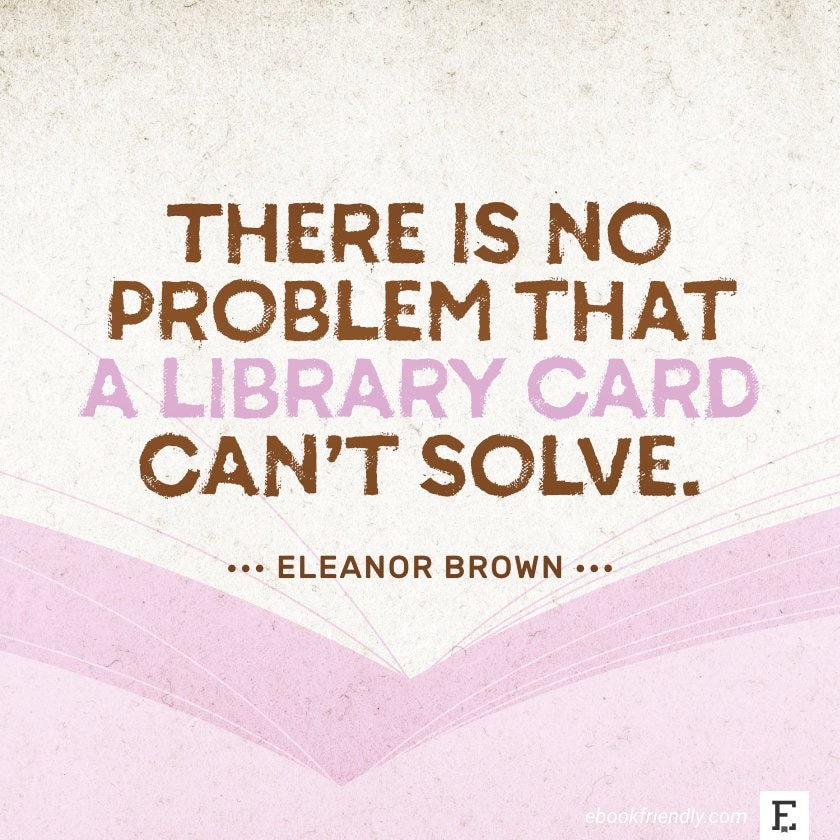 Eleanor Brown - best quotes on the importance of libraries