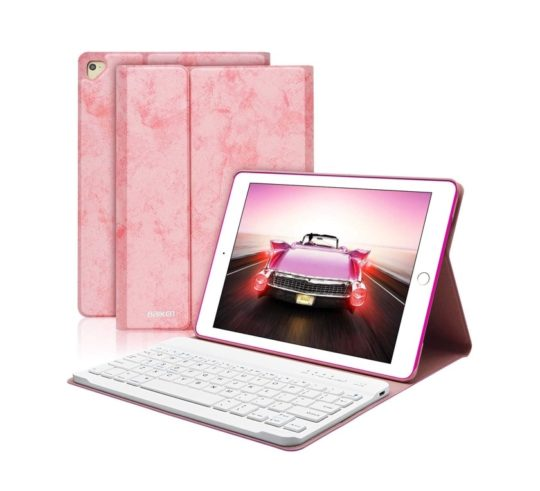 Fashionable iPad 9.7 Bluetooth keyboard case