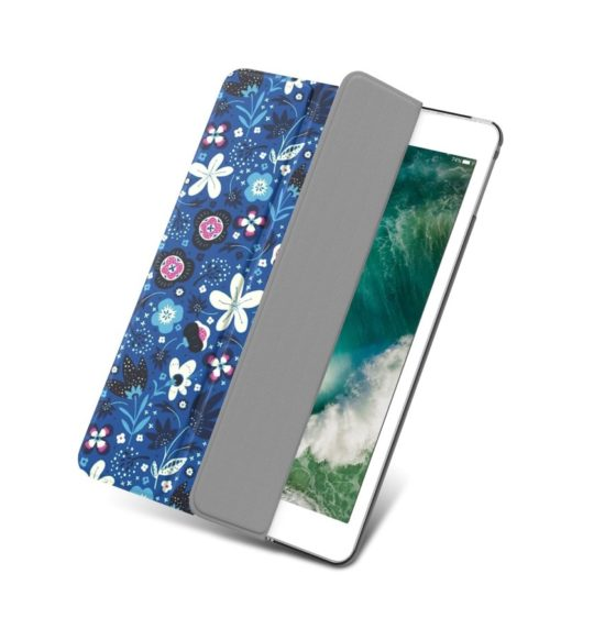 Floral iPad 9.7 smart cover with translucent back
