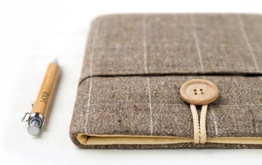 Handmade fabric sleeve for 7-inch tablets - fits Fire 7