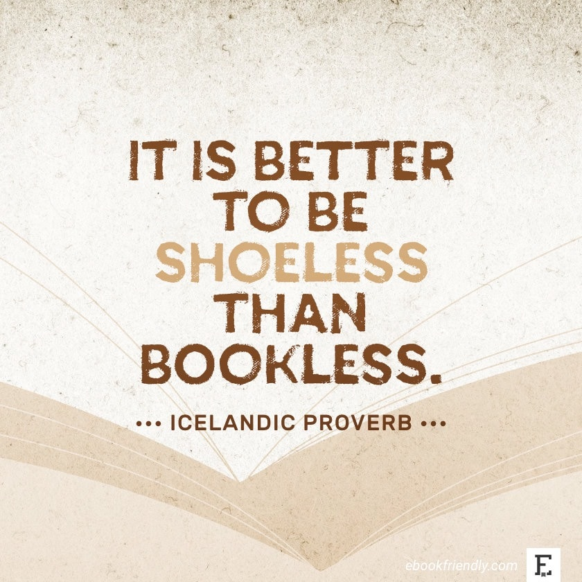 Icelandic Proverb - best quotes on the importance of books