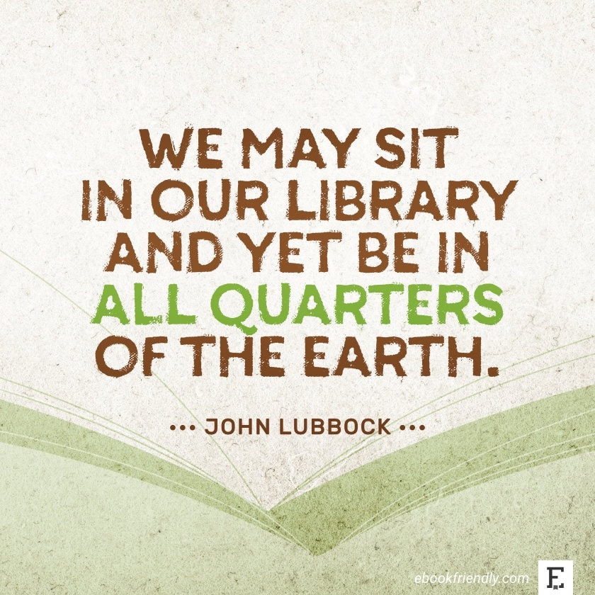 John Lubbock - best quotes on the importance of libraries