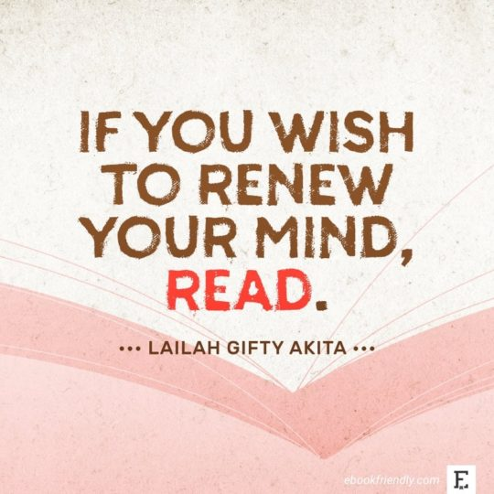 Lailah Gifty Akita - best quotes on the importance of books