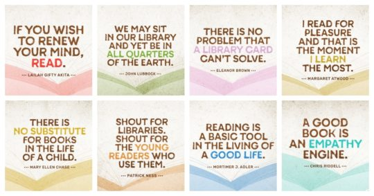 Lesser-known quotes about books and libraries ready to share in social media