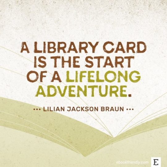 Lilian Jackson Braun - best quotes on the importance of libraries