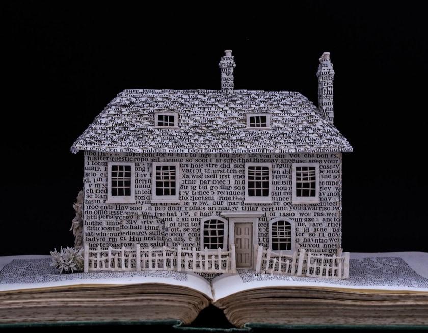 Literary Homes by Su Blackwell - Jane Austen - front