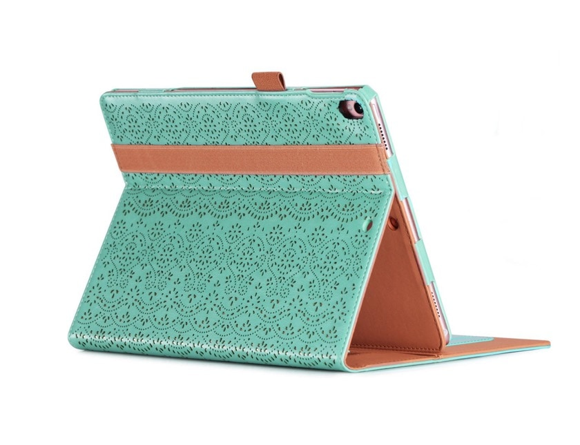 Luxury iPad Air 2019 stand case with Apple Pencil loop